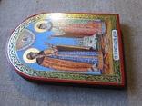 Икона святые благоверные князь Петр и княгиня Феврония Муромские., фото №8