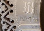 Икона «Спасителя» в серебряном окладе., фото №5