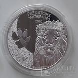 Монета хижаки конго лев 2020р, фото №2