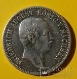 2 марки, 1908 год, Саксония., фото №3
