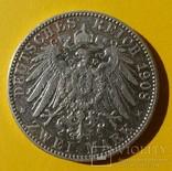 2 марки, 1908 год, Саксония., фото №6