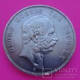 5 марок, Саксония, 1903 год., фото №3