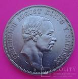 5 марок, Саксония, 1914 год., фото №3