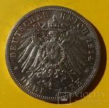3 марки, Анхальт, 1914 год., фото №5