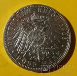5 марок, 1906 год, Баден,, фото №4