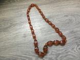Янтарные бусы. Ожерелье, фото №2