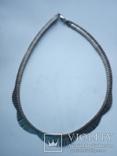 Серебряное колье Италия, фото №4