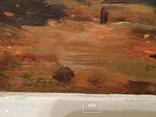 Картина в раме морской пейзаж,картон масло худКалашников, фото №6