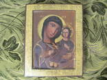 Ікона-Божої матері,розмір 26х33 см., фото №2
