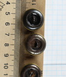 Пуговицы с якорями / 3 штуки /, тяж. металл., фото №8