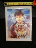 Картина Принцеса Мононоке, фото №5