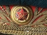 Фуражка генерала РККА обр. 1945г., фото №4
