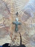 Серебряный крестик 84 проба, фото №6