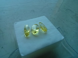 Каміння із старовинних прикрас 3 шт., фото №10