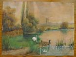 """Лебединый пруд"" 1926 год, фото №6"