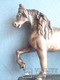 Серебряная статуэтка лошади., фото №3