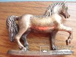 Серебряная статуэтка лошади., фото №5