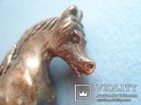 Серебряная статуэтка лошади., фото №7