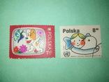Польские марки 2шт., фото №2