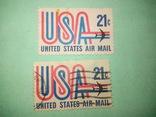 Марка USA 21с, фото №2