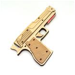 Сувенирный деревянный пистолет, фото №3