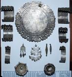 Серебряный набор украшений. Восток., фото №3