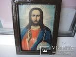 """Икона """"Господь Вседержитель"""", старинная, фото №2"""
