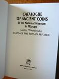 Каталог монет республиканского Рима (в собрании Варшавского музея) Янина Верцинская. 1996, фото №3