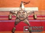 « Звезда с колокольчиками» /звук ветра, фото №4