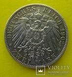 2 марки, Саксония, 1902 год., фото №4