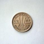 Австралия 3 пенса 1957 г., фото №3