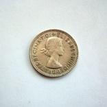 Австралия 3 пенса 1957 г., фото №4