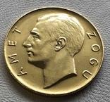 100 франга 1925 год Албания золото 32,25 грамма 900', фото №3