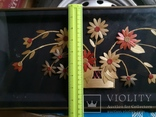 Картина натюрморт букет цветы солома, фото №12