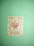 Польская марка 1, фото №2