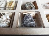 Минералы Флюорит, Арагонит, Обсидиан, Азурит, Кварц, и др. М120, фото №4