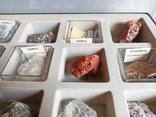 Минералы Флюорит, Арагонит, Обсидиан, Азурит, Кварц, и др. М120, фото №5