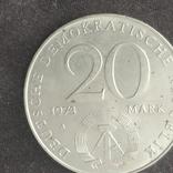 ГДР 20 марок Отто Гротеволь, фото №3