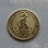 25 фунтов 2019 год Англия «Йейл» золото 7,78 грамм 999,9', фото №2