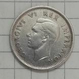 6 пенсов 1937г Брит. Южная Африка серебро, фото №2