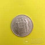 Швеція 5 крон, 1959 150-річчя Конституції Срібло., фото №3