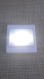 Светильник-выключатель клавишный светодиодный на батарейках, фото №5