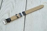 Ремешок для часов кожзам 2 ушки 20мм, фото №3