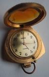 Часы кольцо Чайка AU, кулон Заря AU5 (на ходу), фото №6