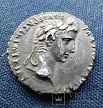 Денарий Августа.27-14 г.до.н.э. Монетный двор lugdunum ( 2 г.до.н.э-4 г.н.э)., фото №6