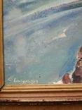 """""""Дирижабль"""" к.м.  35х25 см. Боголюбов С., фото №4"""