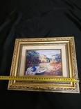 Картина  холст масло подпись, фото №4