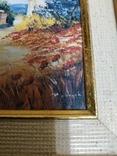 Картина  холст масло подпись, фото №6