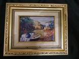 Картина  холст масло подпись, фото №2