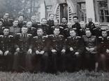 Групповое фото офицеров с перечнем фамилий на обороте, фото №4